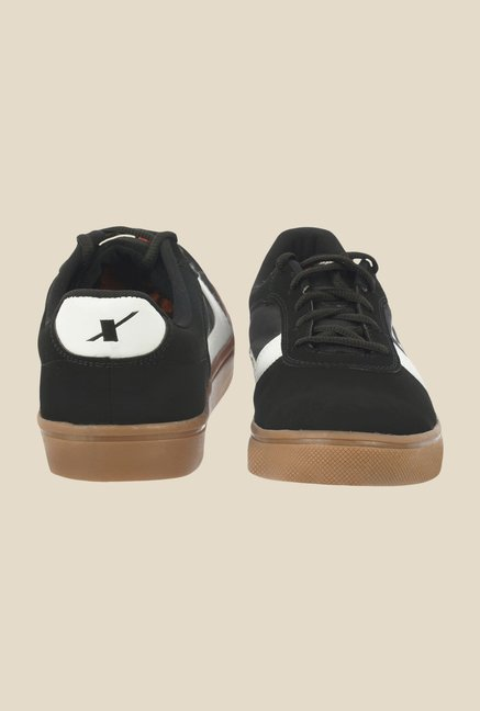 Sparx Black & White Casual Shoes
