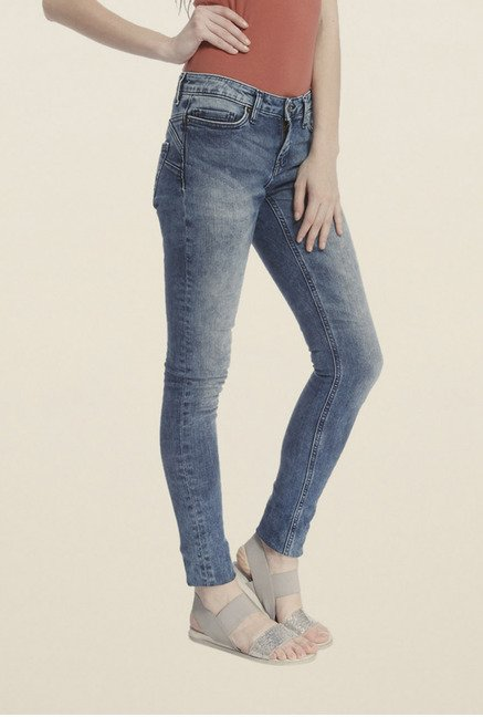 Vero Moda Blue Acid Wash Jeans
