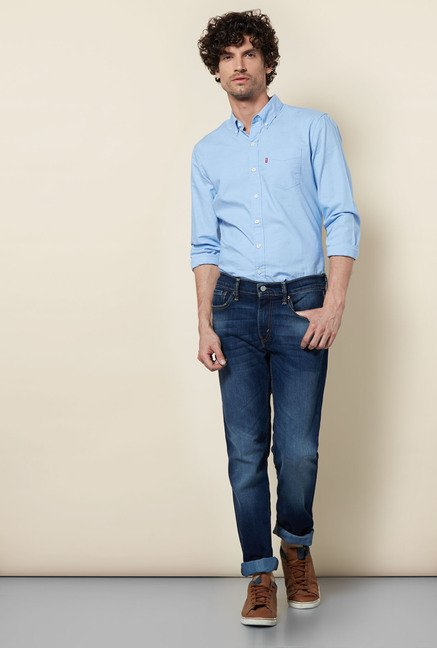 Levi's Blue Slim-fit Jeans