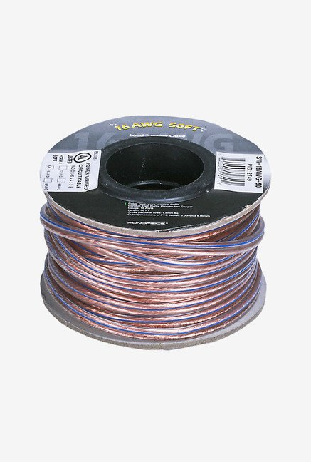 Monoprice Choice 16AWG 102749 Copper Speaker Wire (Brown)