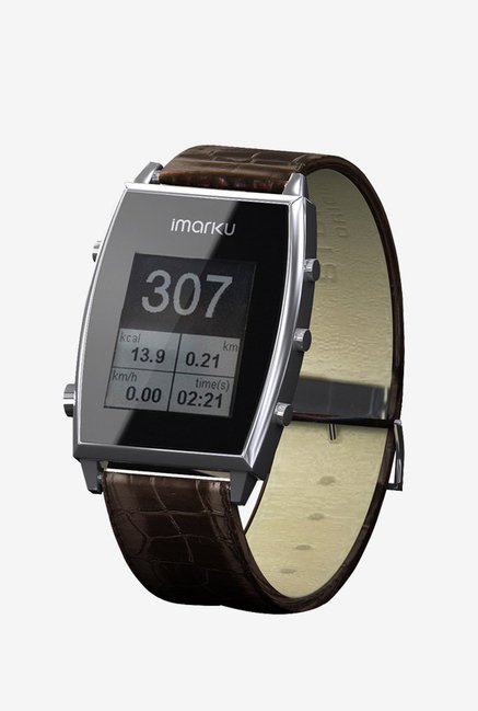 Imarku Android Phone Smartwatch Pedometer (Coffee)