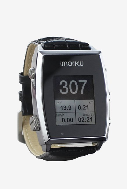 Imarku Android Phone Smartwatch Pedometer (Black)