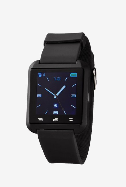 Victory Wireless Bluetooth Smartwatch With Pedometer (Black)