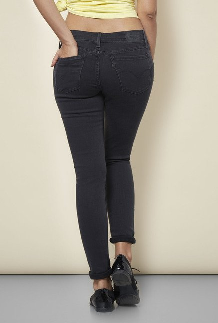 db87450b8fb Buy Levi s Grey 710 Super Skinny Jeans Online at best price at TataCLiQ