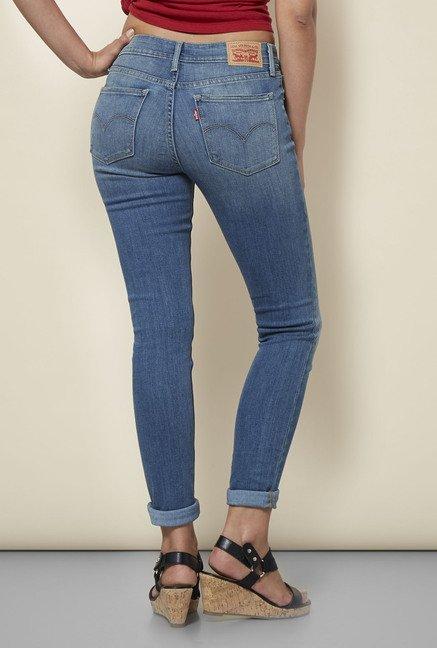 225b67bf Buy Levi's Blue 711 Skinny Jeans Online at best price at TataCLiQ