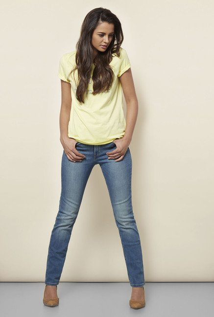 Levi's Blue 312 Shaping Slim Jeans