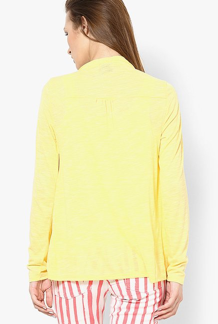 Only Yellow Solid Shrug