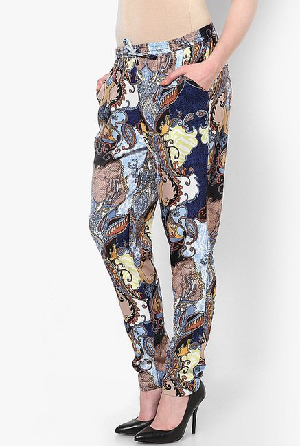 Only Multicolor Printed Trousers