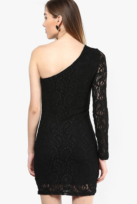 Only Black Lace Dress