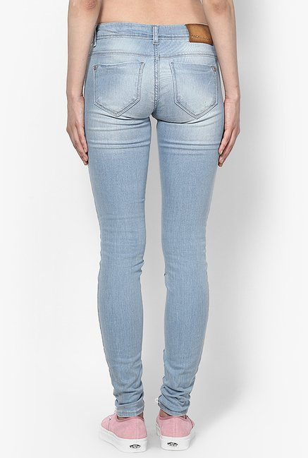 Only Light Blue Skinny Fit Jeans
