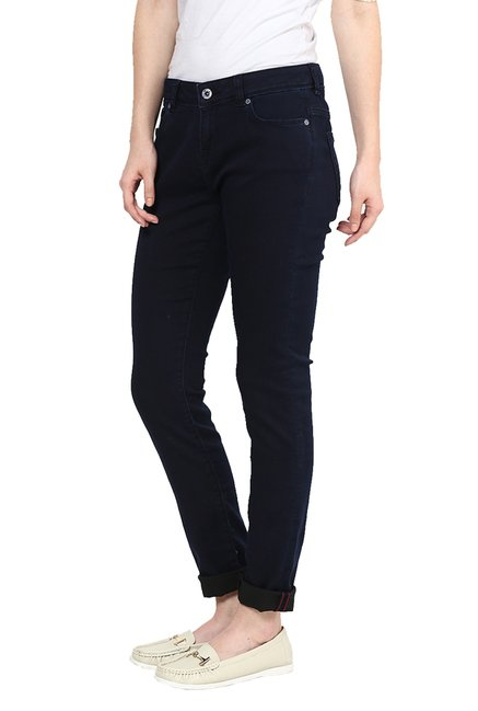 Only Navy Skinny Fit Jeans