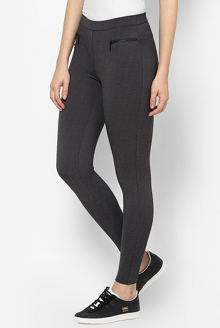 Only Grey Skinny Fit Jeggings