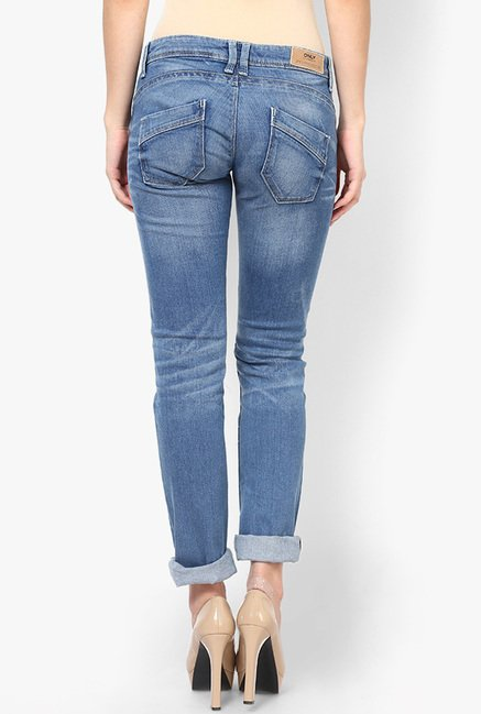 Only Blue Skinny Fit Jeans