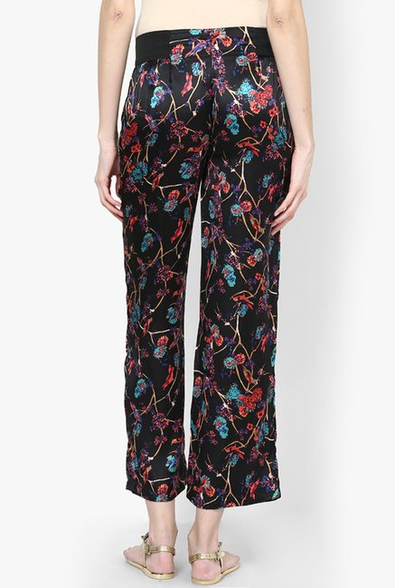 Only Black Printed Pyjamas