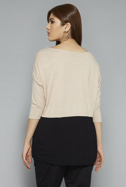 Gia by Westside Beige Sara Top