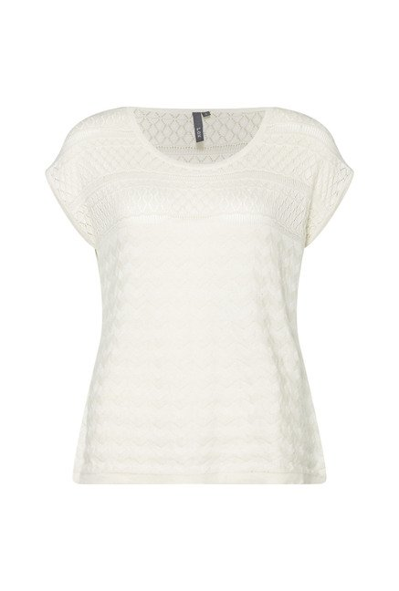 LOV by Westside Ecru Zeni Top