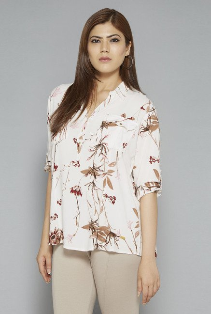 Gia by Westside Off White Nora Blouse