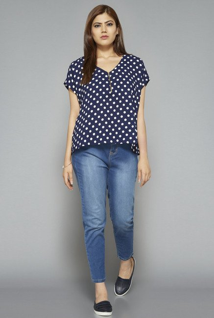 Sassy Soda by Westside Navy Rima Blouse