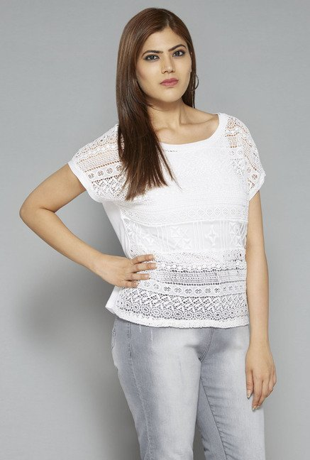 Sassy Soda by Westside White Eddy Blouse