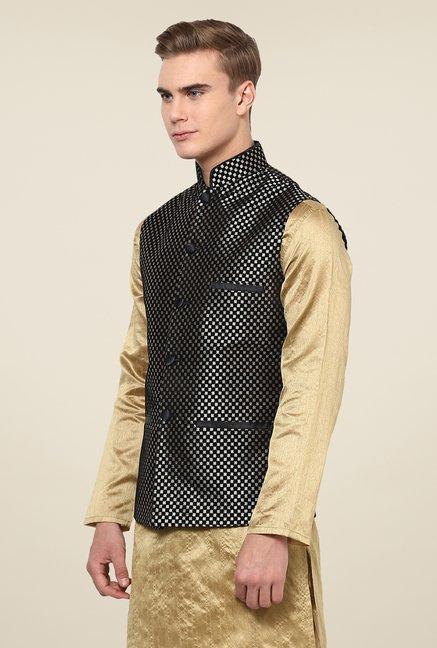 Yepme Black Adam Ethnic Jacket
