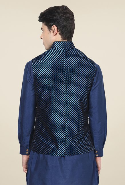 Yepme Royal Blue Adam Ethnic Jacket