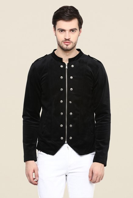 Yepme Black Siddle Party Jacket