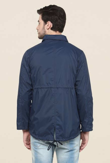 Yepme Blue Hawk Long Jacket