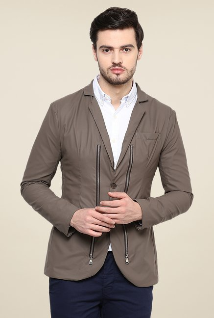 Yepme Trott Grey Party Blazer