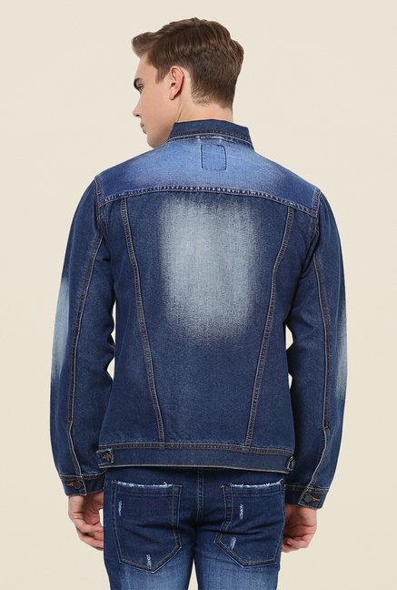 Yepme Tyler Blue Denim Jacket
