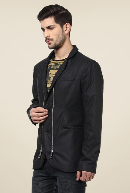 Yepme Trott Black Party Blazer