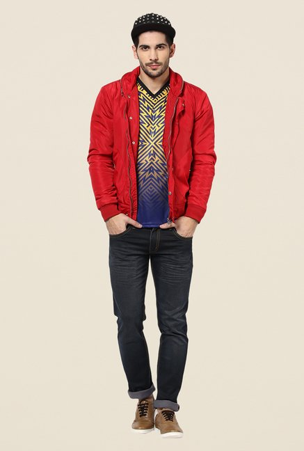 Yepme Justin Red Party Jacket