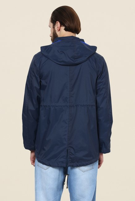 Yepme Hecter Navy Hooded Jacket