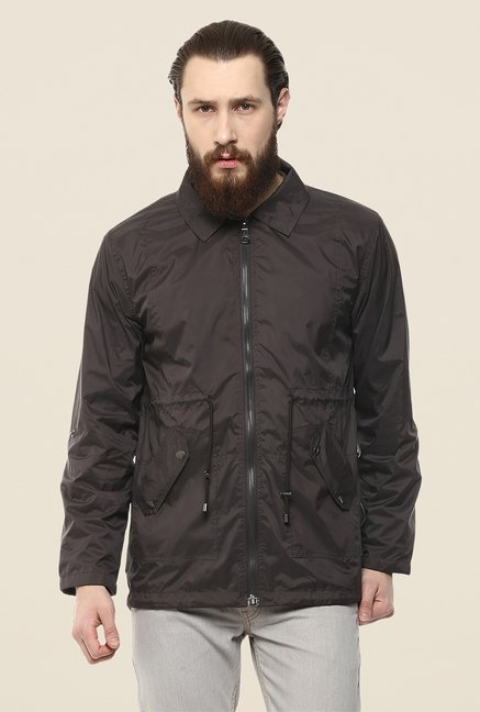 Yepme Hawk Brown Long Jacket
