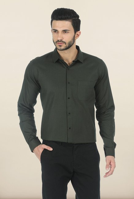 Basics Climbing Ivy Twill Slim Fit Shirt