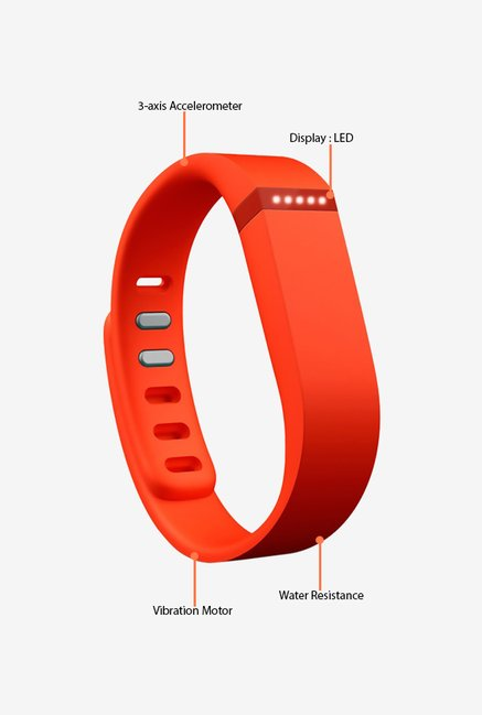 Fitbit Flex Wireless Activity Tracker (Tangerine)