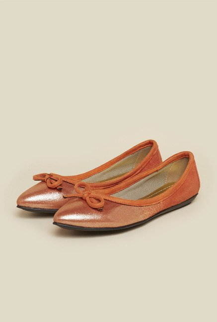 Inc.5 Orange Flat Ballets