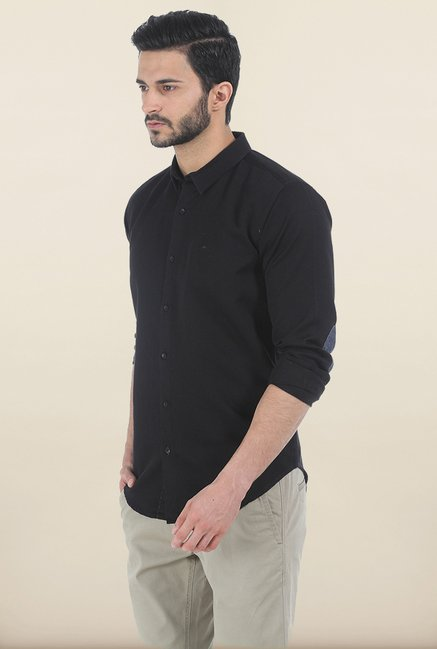 Basics Total Eclipse Slim Fit Shirt