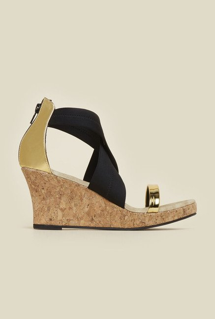 Inc.5 Black Back Strap Wedges