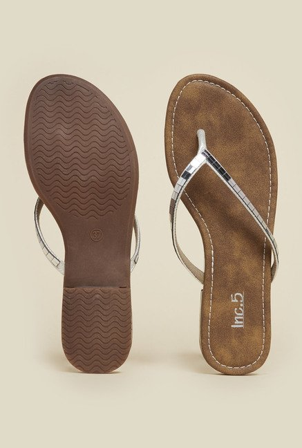 Inc.5 Silver Casual Sandals