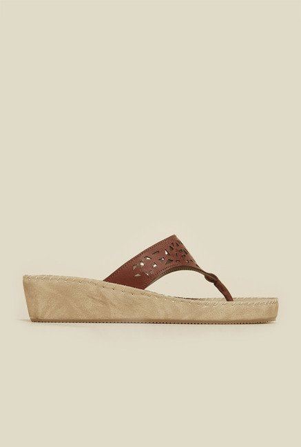 Inc.5 Brown Casual Sandals