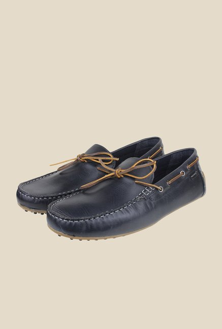 Red Tape Navy Boat Shoes