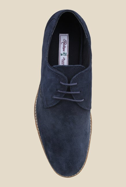 Red Tape Navy Derby Shoes