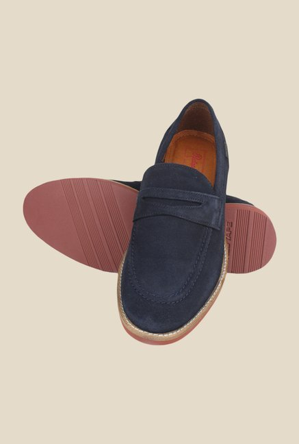 Red Tape Navy Casual Slip-Ons