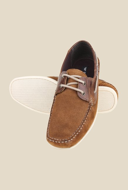 Red Tape Tan Boat Shoes