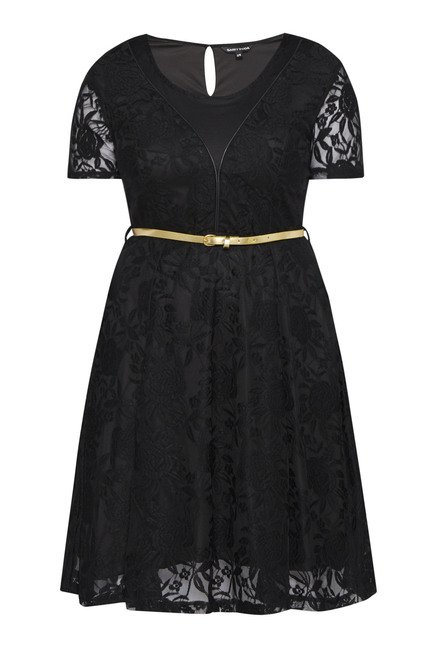 Sassy Soda by Westside Black Arah Dress