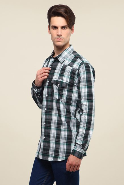 Yepme Green Hagen Checked Shirt