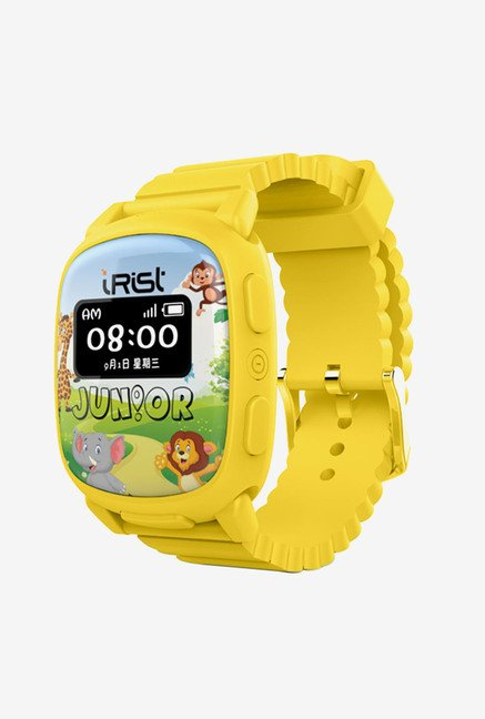 Intex iRist Junior Smartwatch (Yellow)