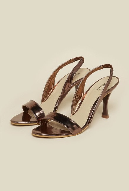 Inc.5 Bronze Back Strap Sandals