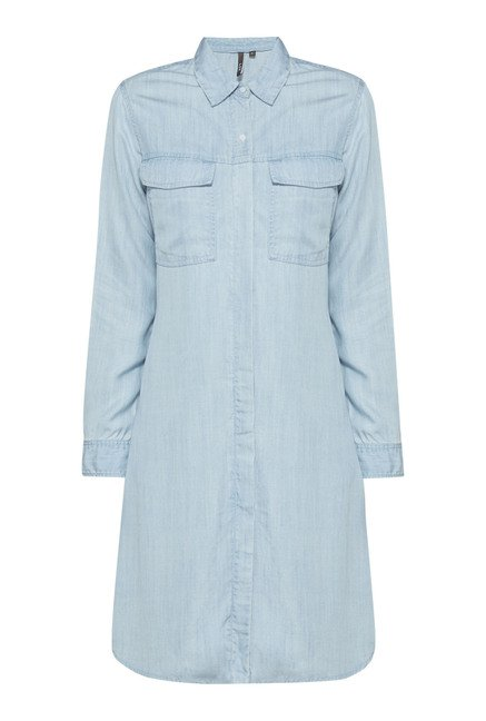 LOV by Westside Light Blue Dale Dress