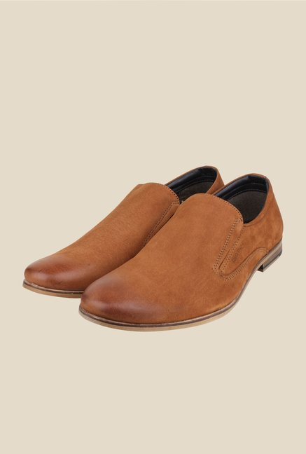 Red Tape Tan Casual Slip-Ons